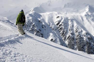 Freeriding in Mayrhofen (Tirol)