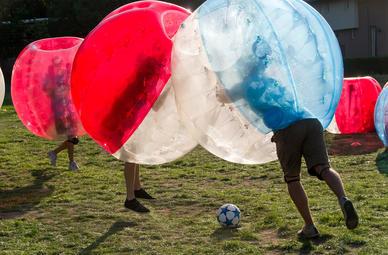 Bubble Football in Zipf (Oberösterreich)