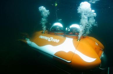 U-Boot Tauchfahrt in Boltenhagen (MV)