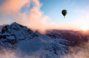 Ballonfahrt über die Winterber...