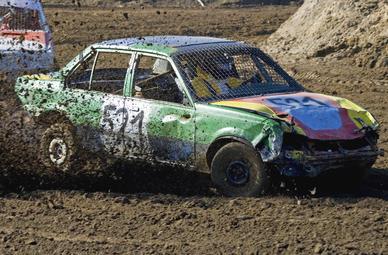 Stock-Car Rennen fahren