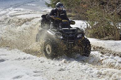 Quad Schneezauber Tour