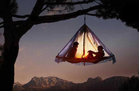 Baum-Übernachtung für Zwei