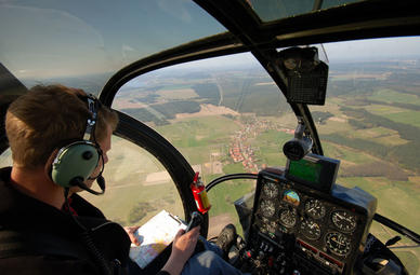 Flugsimulator Hubschrauber