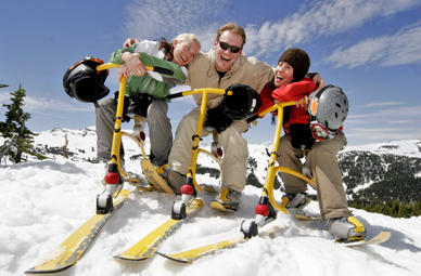 Snowbike Kurzurlaub in Oberhof