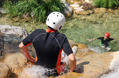 Canyoning in Forbach