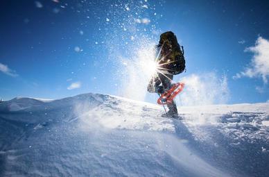 Schneeschuhwandern in Kiefersfelden