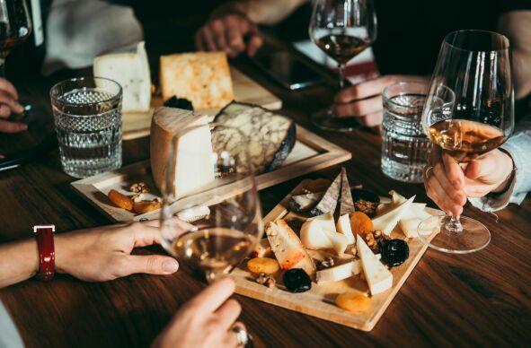 Wein & Käse Seminar (Onlinekurs)
