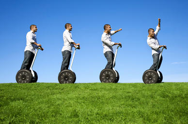 Segway Tour in Ronneburg