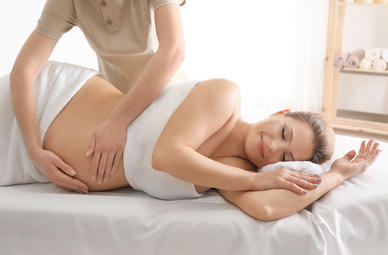 Schwangerschaftsmassagen