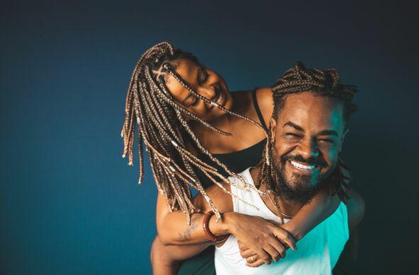 Paar und Romantik Fotoshooting