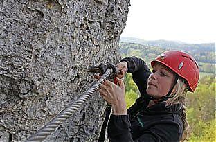 Klettersteig Fränkische Schweiz : Klettersteig gehen stunden tour erlebe jollydays